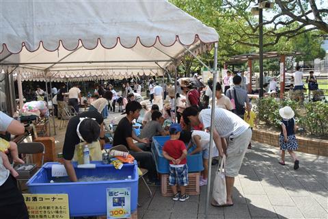 おでかけ児童館「ちびっ子のまうま祭」(今治市枝堀・本町児童館)