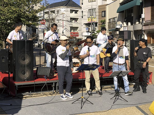 松山フォークジャンボリーin ロープウェー街(県民総合文化祭)