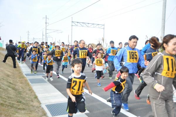 松前町ふれあい健康マラソン大会
