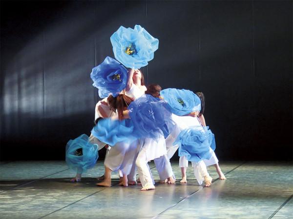 モダンダンス公演(県民総合文化祭)