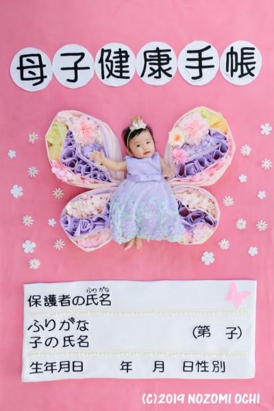 母子健康手帳おひるねアート撮影会