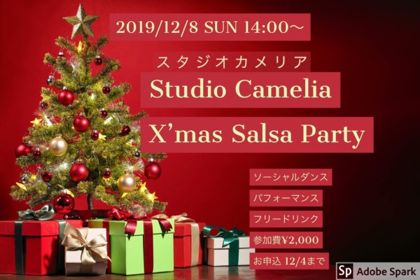 Studio Camelia X'mas Salsa Party