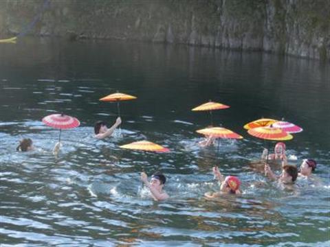 第66回大洲市寒中水泳大会