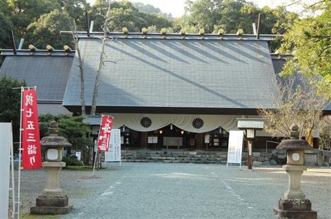 伊曽乃神社 初詣