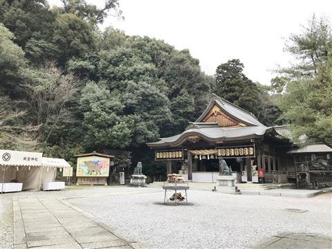 和霊神社 初詣