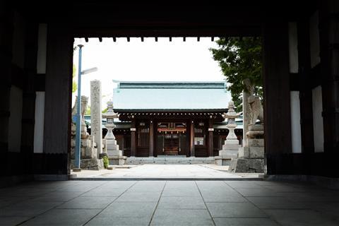 吹揚神社 初詣