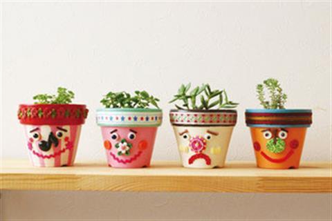 笑顔咲く植木鉢を作ろう
