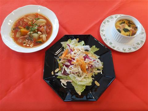 2月の講師料理講座「春気分でおもてなしランチ」inヨンデンプラザ松山