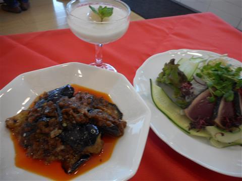 2月の講師料理講座「プロ直伝!白い麻婆豆腐と本格中華」inヨンデンプラザ松山