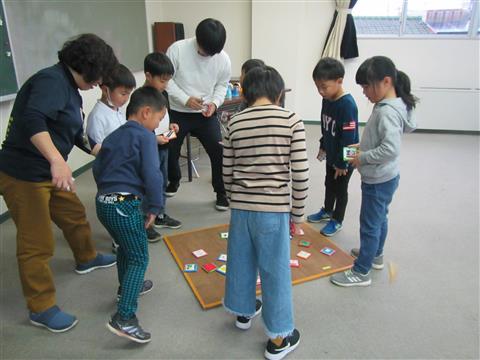 めんこで遊ぼう!!(今治市伯方児童館)