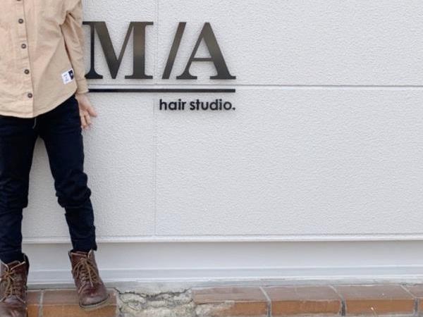 M/A hair studio.