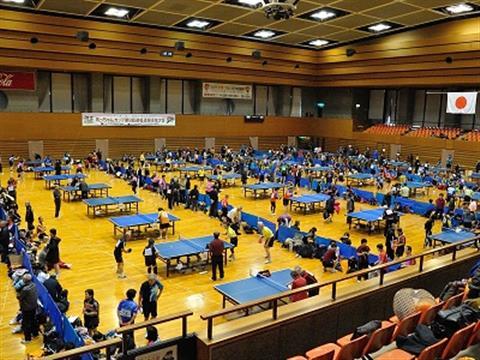 坊っちゃんカップ第13回道後温泉卓球大会