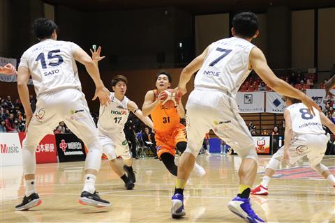 ※無観客試合※【B2リーグ】愛媛オレンジバイキングス vs バンビシャス奈良