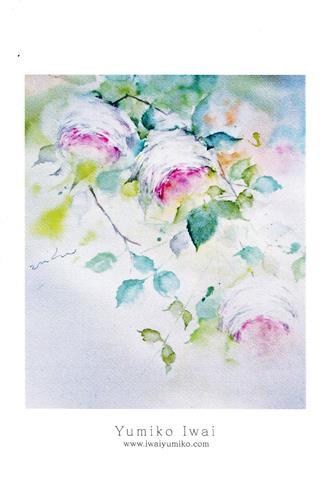 岩井由美子 水彩画展