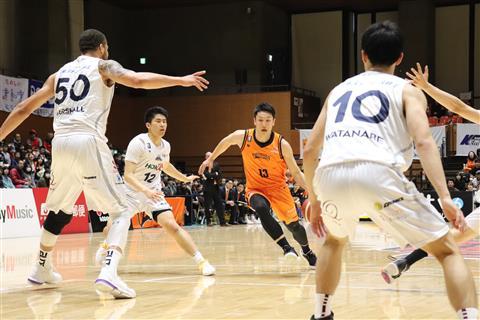 【B2リーグ】愛媛オレンジバイキングス vs 熊本ヴォルターズ