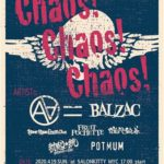 "MAD MAGAZINE RECORDS presents ""Chaos! Chaos! Chaos!"""