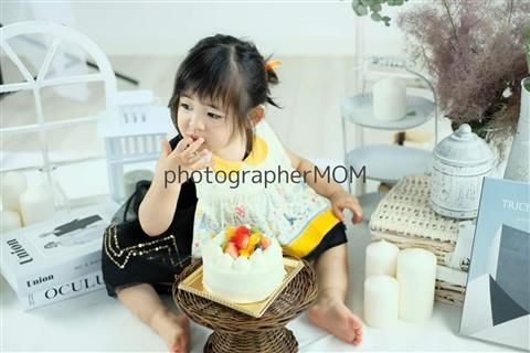 1歳のお誕生日に!ケーキスマッシュ撮影会