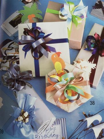 9月の講師カルチャー講座「基本のラッピングを学ぼう(1)~手作りのプレゼントをお洒落に~」inヨンデンプラザ松山