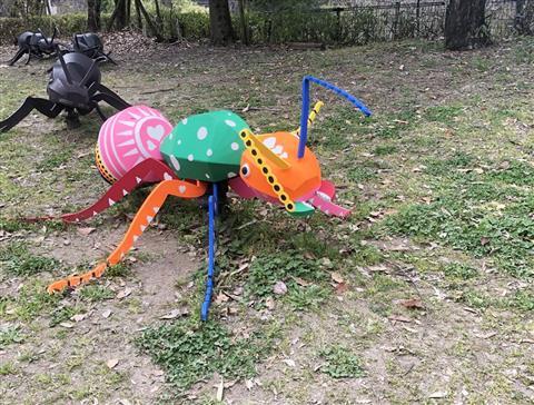 アリをアートしよう!