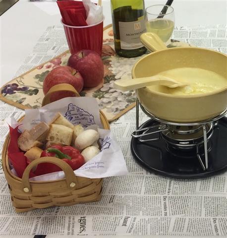 おうちで簡単!チーズフォンデュ