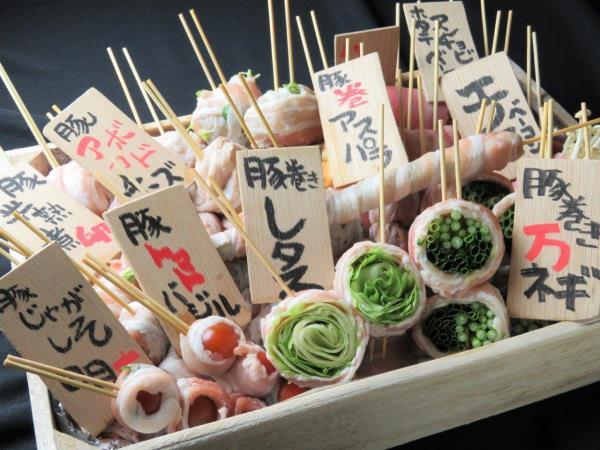 博多野菜肉巻き串 ナッツフォードテラス
