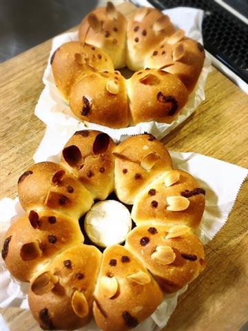 ねずみのちぎりパン