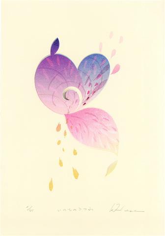 小さな版画とドローイング~Seed Stories~