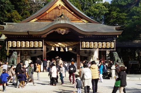 和霊神社の初詣