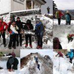 楽しく安全に雪山登山を楽しむ雪山チャレンジ教室 東赤石山