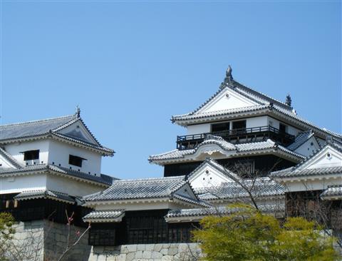 松山城誕生記念日 おめでとう419歳!