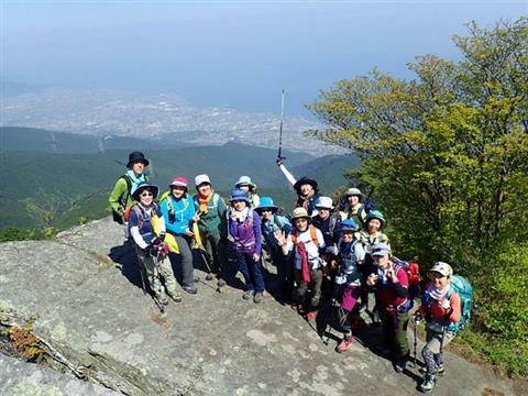 ※開催中止※地元愛媛県の人気登山ガイド智さんと行く春のハジメテトザン 鋸山~赤星山縦走