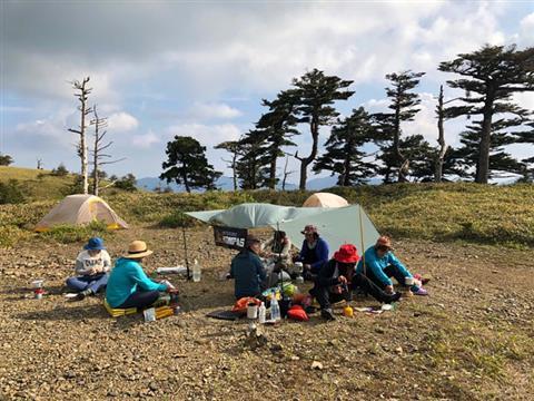 ※開催中止※スタッフ多田の山企画2021 春のテント泊登山